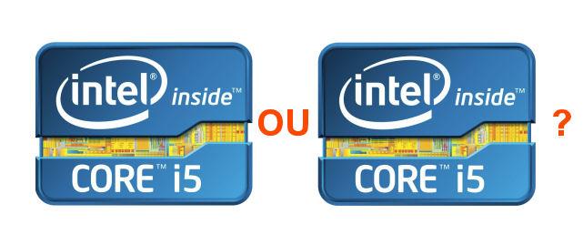 Core i5 ou i5