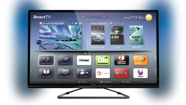 smart tv philips PFL5508