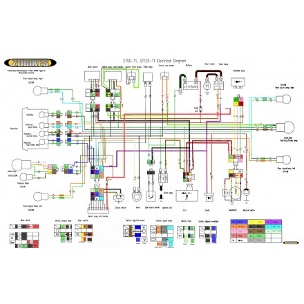 Skyteam 125cc Dirt Bike Wiring Diagram Online Wiring Diagram
