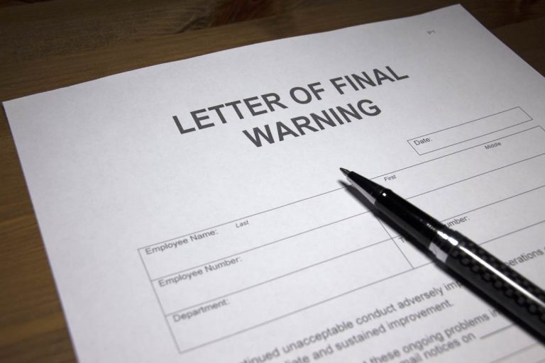 Is a warning letter an adverse employment action? - Zuckerman Law