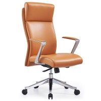 Adjustable Ergonomic Draper Leather Executive Chair with ...