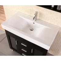 "Martina 36"" Single Sink Vanity Set | Zuri Furniture"