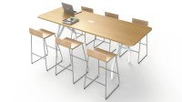 SCALE 1:1 HOT SPOT Bar Height Table | Zuri Furniture