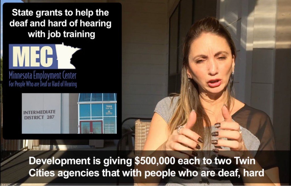 State grants to help the deaf and hard of hearing with job training