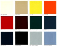 Bunte BMW-Farbenwelt im Jahr 1974 (Oldtimer-Blogartikel ...
