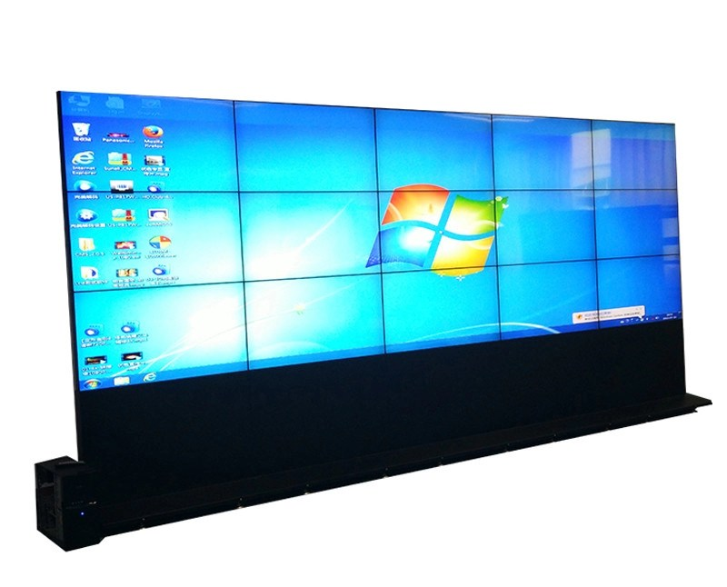 Floor Stand Multi Screen Display Wall , High Contrast Large Video - multi screen display