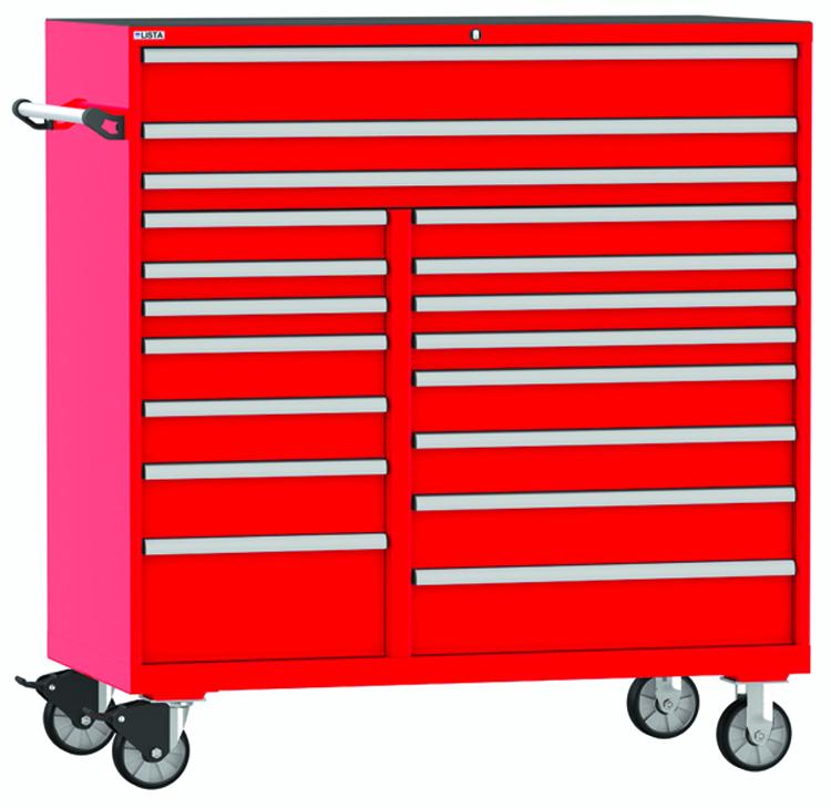 Lista Announces New Technician Series Tool Boxes Carts