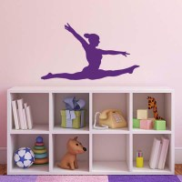 Gymnast Wall Sticker - Gymnastics Splits Wall Sticker | eBay