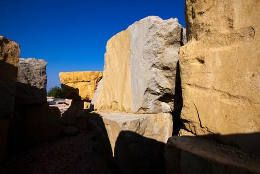 blocchi di arenaria - sandstone blocks