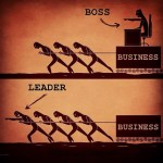 image from David Sanabria. I'd like it better if both leader and manager were together pulling the business...