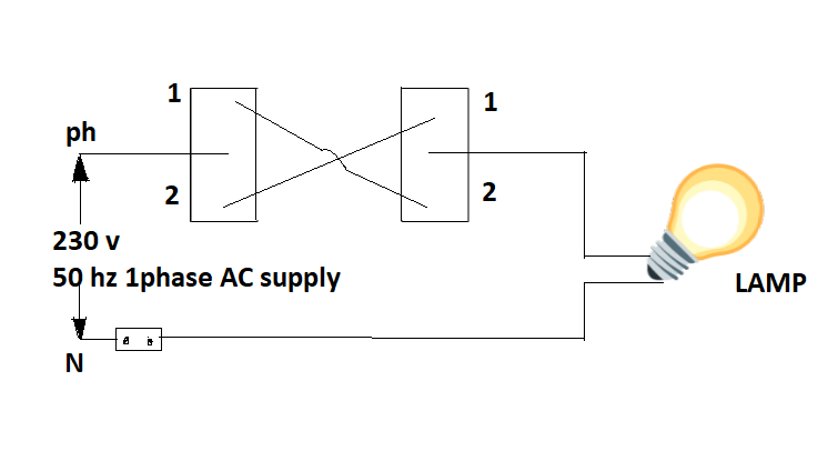 staircase wiring circuit