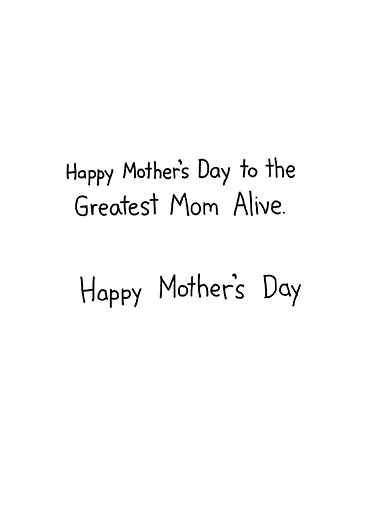 Funny Mother\u0027s Day Card - \