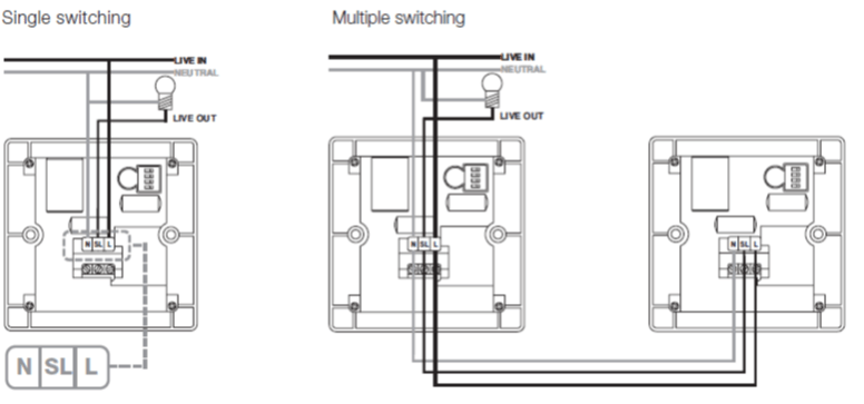wiring diagrams for emergency lighting