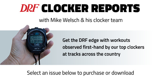 Daily Racing Form - Clocker Reports - racing form