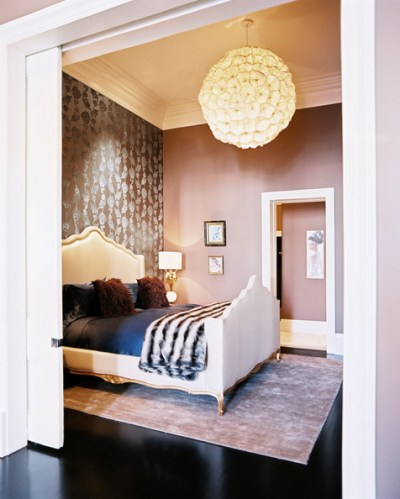 One Wall Wallpaper Photos, Design, Ideas, Remodel, and Decor - Lonny