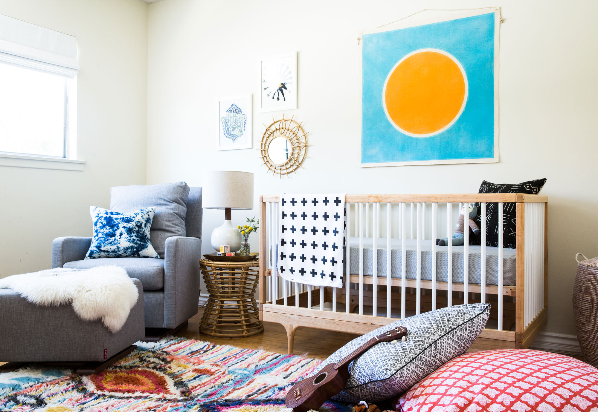 Home Interior Kids Colorful Baby Room Modern Home Interior
