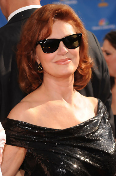 Short Hairstyles For Women Over 40 Susan Sarandon The 50 Most Beautiful Women Over 50