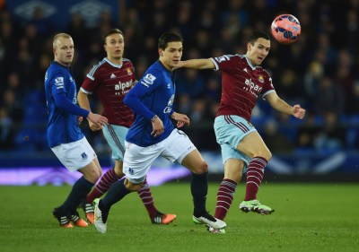 Muhamed Besic Photos Photos - Everton v West Ham United - Zimbio