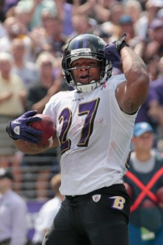 Ray Rice (courtesty of Rob Carr-Getty Images)