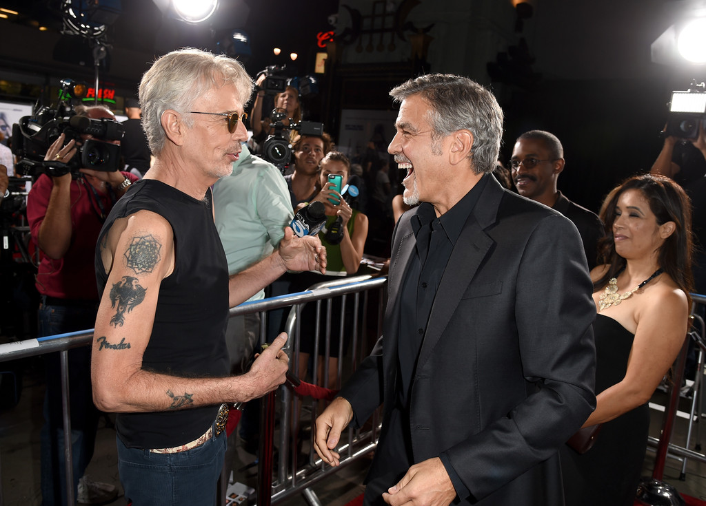 George Clooney Photos Premiere Of Warner Bros Pictures