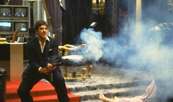 Scarface Quotes Wallpapers Tony Montana Famous Last Words In The Movies Zimbio