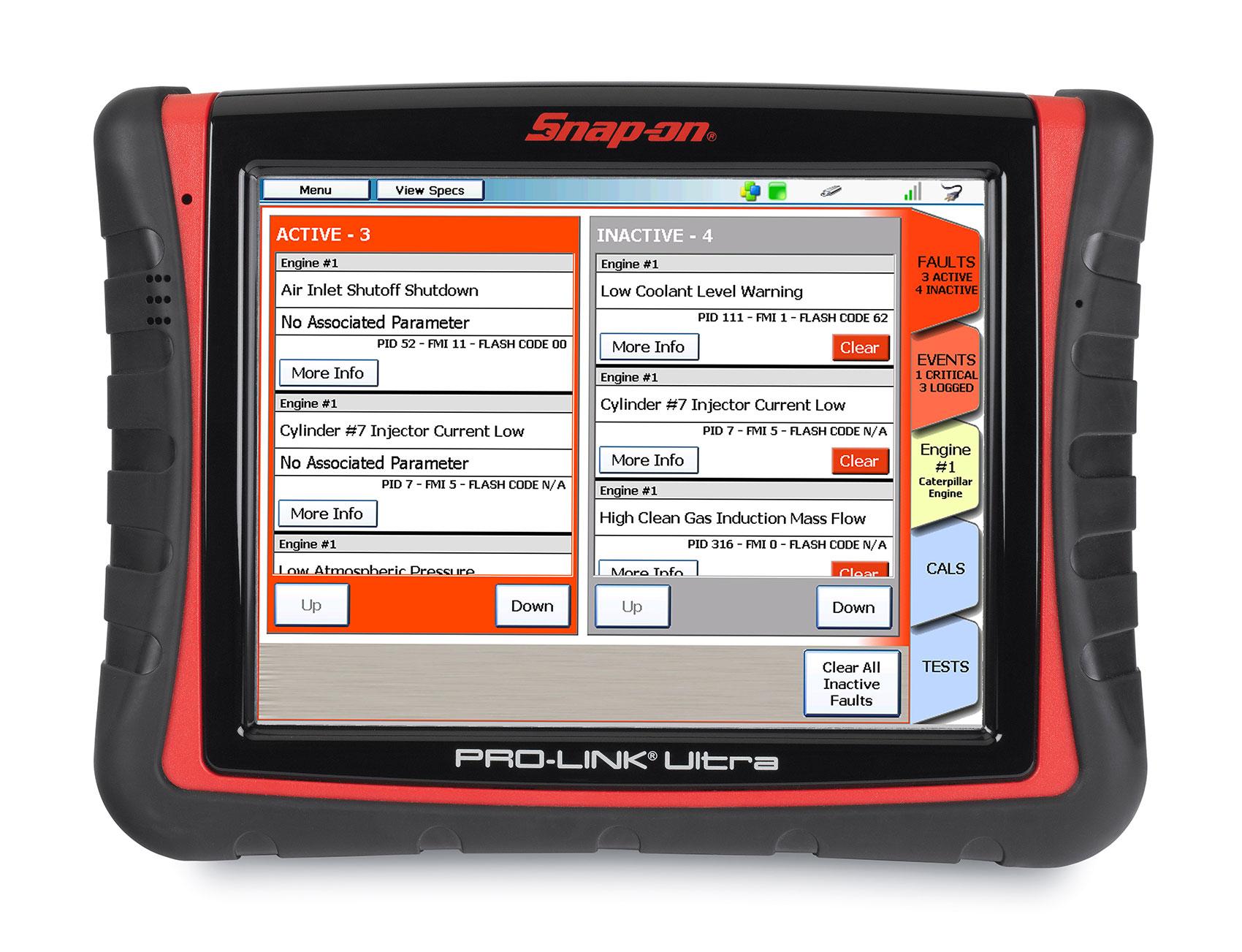 Pro Link Ultra Vehicle Diagnostic Tool Snap On Diagnostics
