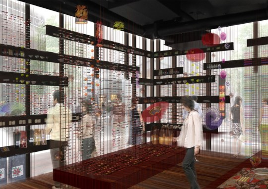 Bringing 'External' Ginza to inside of the building