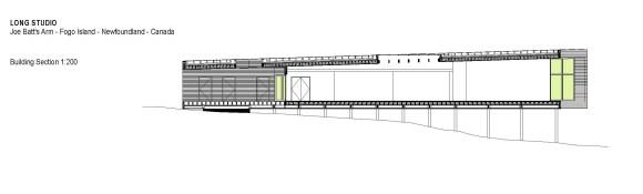 Long Studio Building Section