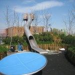 Slide & Trampoline