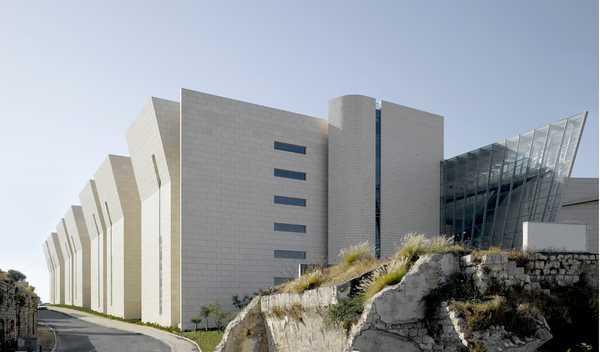 Haifa Courthouse by Chutin Architects