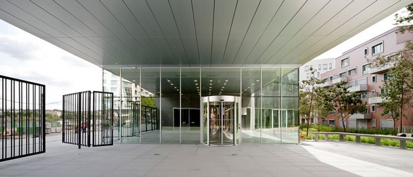 Entrance of The Factory