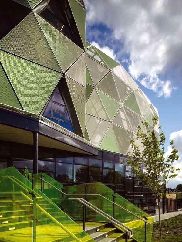 Carnegie Pavilion exterior view 3