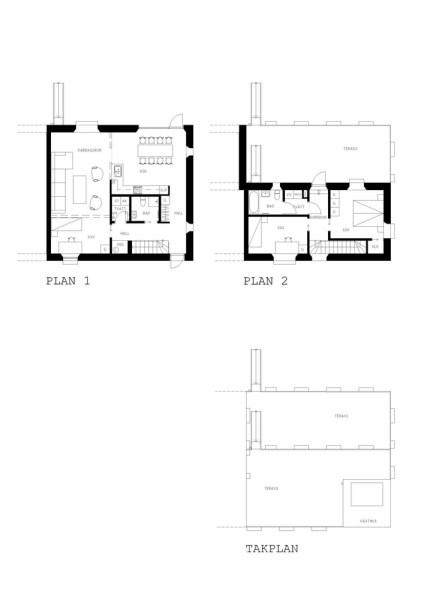 Grey House Plan