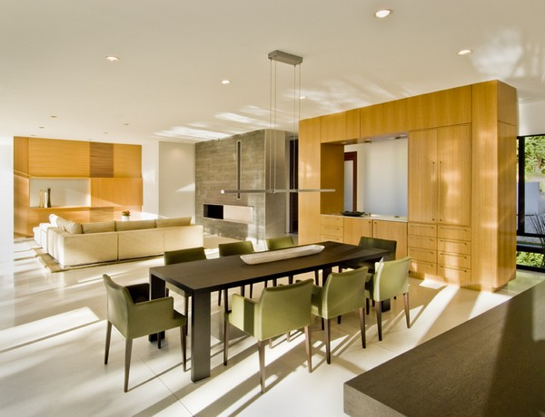 Dining Area and Living Area Beyond ©Maxwell MacKenzie