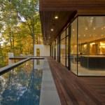 Lap Pool and Fully Glazed Southern Wall ©Maxwell MacKenzie