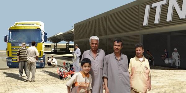 Oil Change Plant of Nassiriyah Truck Stop