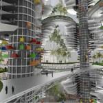 Tata Tower Atrium Garden