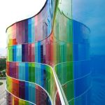 The Colored Glass Facade