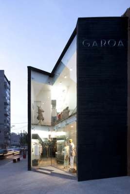 Double Height Glass Facade View
