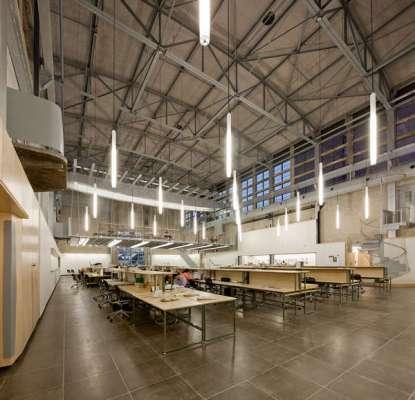 Hinman Research Building Interior
