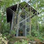 Back of Thorncrown Chapel