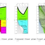 1st Floor, Second Floor and Roof Plan
