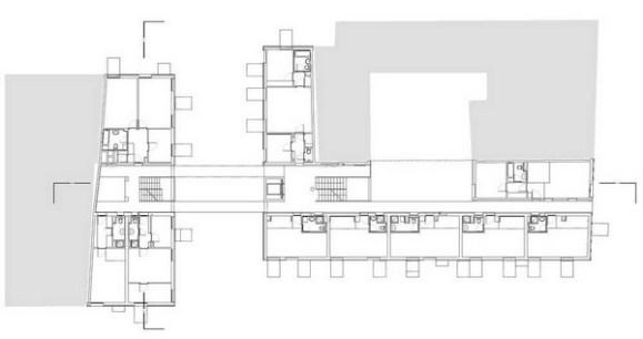 Second Fourth Floor Plan