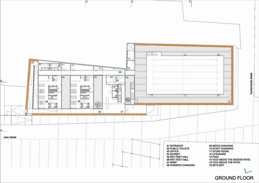 Floor Plan Indoor Pool Omahdesignsnet