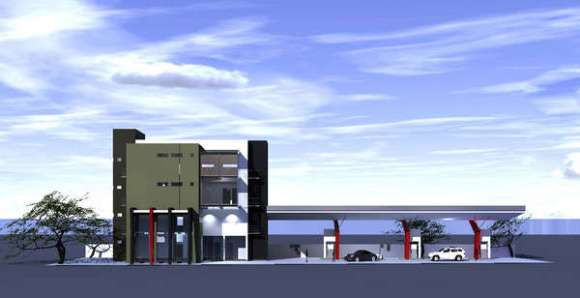 Filling Station and Motel