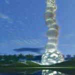 Tall Emblem Structure