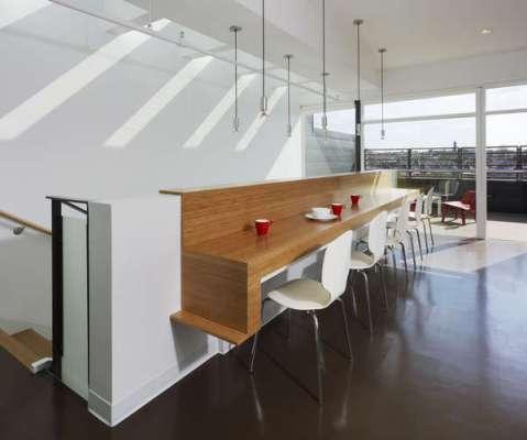 Mezzanine and Rooftop Patio
