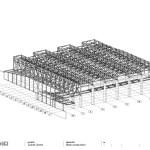 Zamet Centre steel construction