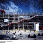 Center Pompidou, Paris, France (Image Courtesy Katsuhisa Kida)
