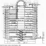 Lloyd's of london Plan (Image Courtesy Richard Rogers Partnership)